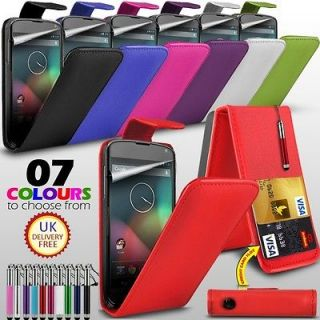 LG Nexus E960 Leather Mobile Phone Case Cover Flip