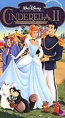 Cinderella II Dreams Come True (VHS, 2002 Clamshell)