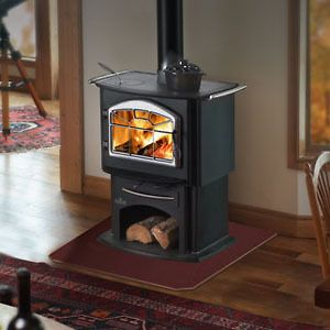 Wood Burning Stove 1150 Gourmet Cook Top EPA Certified efficient Steel