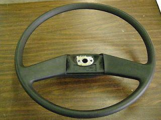 Truck Steering Wheel Black Padded 20 1984 1985 1986 1987 1988 1989