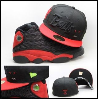 New Era Chicago Bulls Custom Fitted Hat For Air Jordan Retro 13 XIII