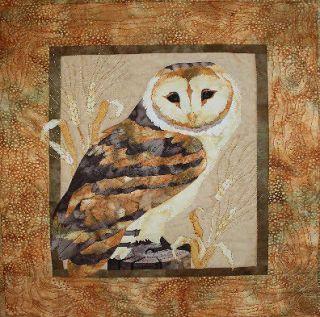 Mellow Meadow Barn Owl Quilt Pattern Toni Whitney Bird of Prey Owls