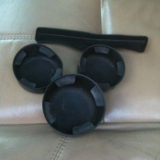 2007 Chevy Trailblazer 3 pc Cup Holder Insert Set (Fits Chevrolet