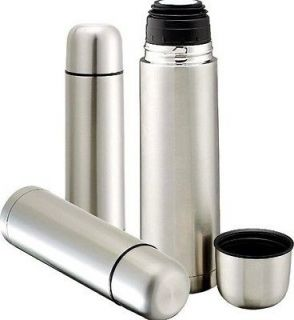 Stainless Steel Vacuum Thermos 16 oz / 500 ml keeps Hot or Cold