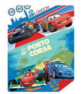 Disney Cars 2 Action Mat Play mat   beach picnic park backyard 50x60