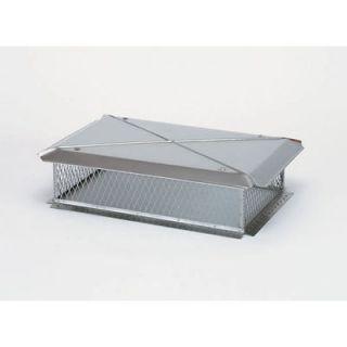 GELCO 105692 17 in. x 49 in. Stainless Steel Multi Flue Chimney Cap