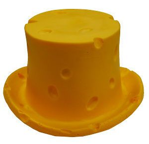 NFL Cheese Head Top Hat, Green Bay Packers, NEW