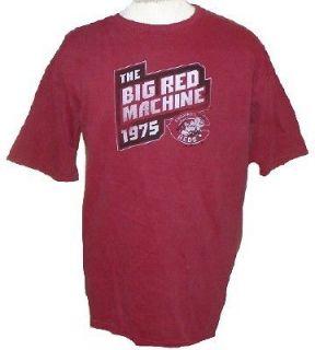 Cincinnati Reds Big Machine Retro Shirt Large