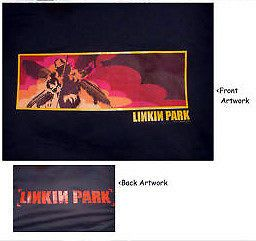 linkin park winged soldier hoodie L Imported Rare New lp large