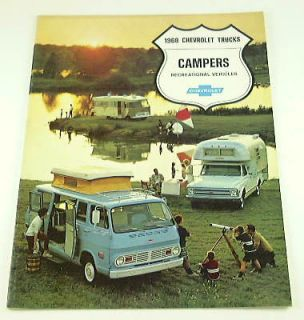 Newly listed 1968 68 Chevrolet CHEVY CAMPER BROCHURE Truck Van