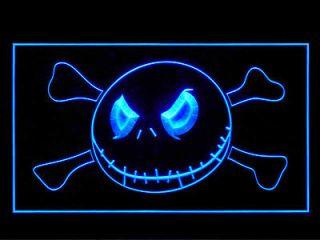 Nightmare Before Christmas Jack Display Led Light Sign B