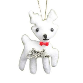 Deer Hunter Hunting Christmas Ornament White Christmas Deer Novel Deer