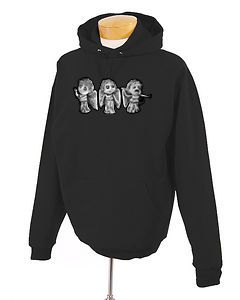 Doctor who Weeping Angels Trio Chibi Hoodie