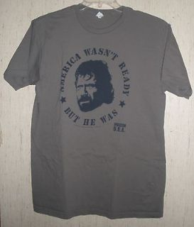 MENS CHUCK NORRIS AMERICA WASNT READY BUT HE WAS INVASION USA T
