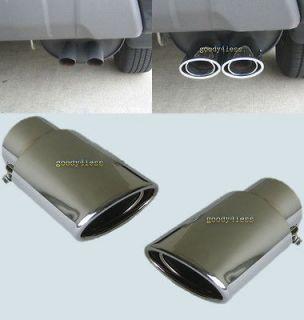 Chrome Exhaust tips Dual tip Honda Accord Pilot Acura