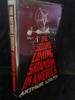 SATANISM OCCULT WITCHCRAFT SECOND COMING ANTON LAVEY CHURCH OF SATAN
