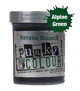 Russell Punky Colour Semi Permanent Hair Color (Choose from 20 colors
