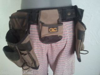 CLC Framer´s Nail and Tool Bag with Belt Fits 29 to 38 Waist