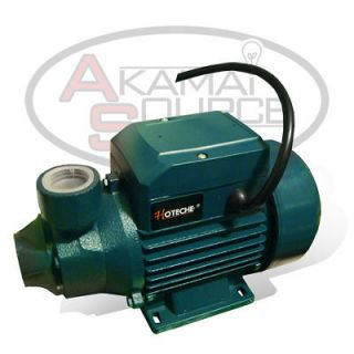Centrifugal Clear Water Pump 1/2 HP Electric Pond Pool 650 GPH 3450