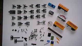 Lot of TYCO, Bachmann, Life like, etc HO rail road/train parts