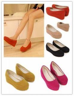 Women's New Design Flat Platform Dull Polish Shoes Dress Gallant