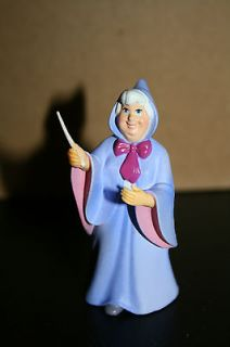 Disney Princess Cinderella Fairy Godmother Figure Cake Topper PVC