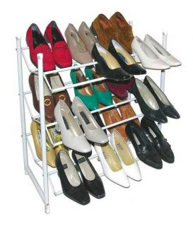 SHOE STORAGE UNIT ORGANIZER SELF SHELF STANDING STAND RACK FOR CLOSET