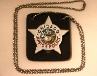 Kids Chicago Junior Police Badge BG 8000