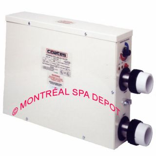 COATES electric spa & pool HEATER 11kW / 240V / 1phase