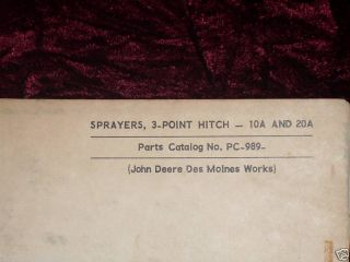 point hitch sprayers