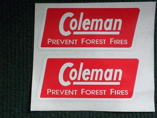 COLEMAN CANADA 4M STOVE HEATER REPLACEMENT DECAL SET 2