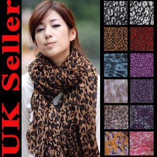 Hot Large Animal Leopard Print Shawl Stole Scarf 2012 Collections