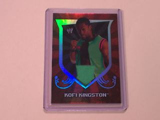Relic Card 2011 Topps WWE Classic Event Worn 3 Color Shirt Swatch