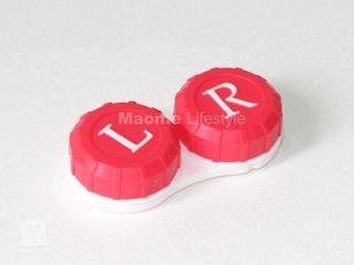 Color Mini Contact Lens Case (Traveling kit)