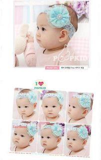 Baby Girl flower Headband Hair Accessory Hair Band Mix Color 0720d