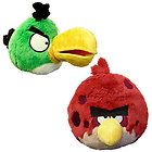ANGRY BIRDS PLUSH 5 TOUCAN & BIG BROTHER BRO PLUSH TOYS WITH TAGS USA