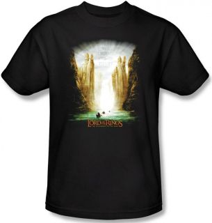 Girl Boy Youth Lord Of The Rings LOTR Argonath Statues T shirt top