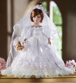COLLECTIBLE PORCELAIN BRIDE DOLL