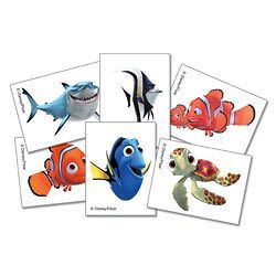 24 Finding Nemo Temporary Tattoos