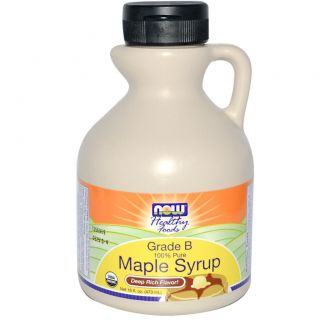 Now Foods, Healthy Foods, Maple Syrup, Grade B, Deep Rich Flavor, 16