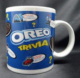 Houston Harvest Gifts White Oreo Cookies Trivia Mug Cup Free USA