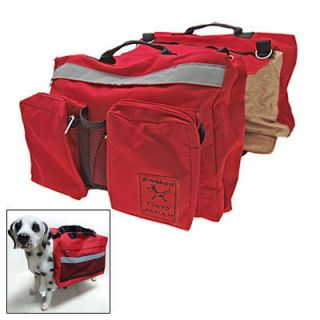 For Dog Pet Comfort Camping Hiking Saddle Bag Backpack with Adjustable