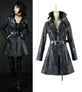 punk visual kei JApan Long COS coat jacket blazer S XL FREE SHIP