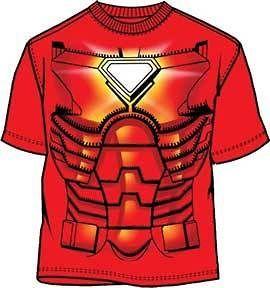 IRON MAN Costume S M L XL XXL tee t Shirt NEW marvel comics