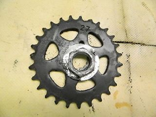 03 Tomos Sprint A3 SL A35 A 35 moped A3SL front pedal sprocket & nut
