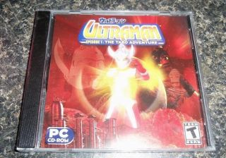 Ultraman Episode 1 The Taro Adventure PC Computer Game Fighting NEW