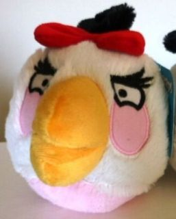angry birds toy girl