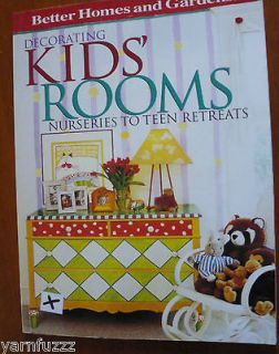 BH&G Decorating Kids Rooms  Nurseries to Teen Retreats (1997, PB)