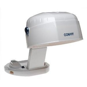 New Conair Collapsible Hard Hat Bonnet Hair Dryer Home Travel Salon
