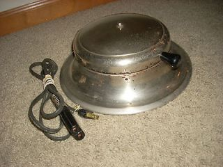 Deco 50s 60s General Electric Waffle Maker Cooker Cooking Griddle